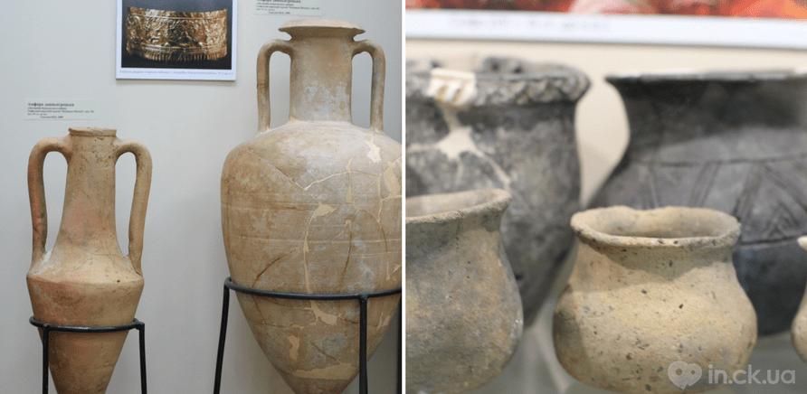 Фото 1 - Древнегреческие амфоры из скифского кургана и другая посуда скифов