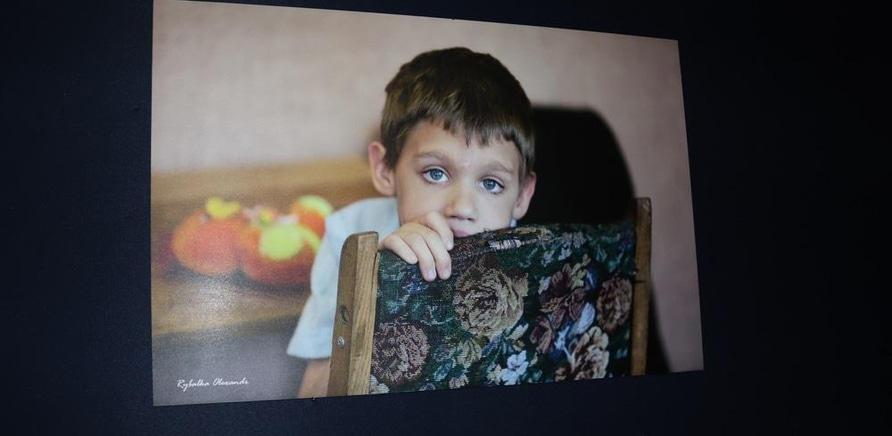 'Выставка 'Хочу к маме' открылась в Черкассах'