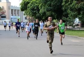 Стаття 'Майже півтори тисячі черкащан взяли участь в олімпійському забігу'