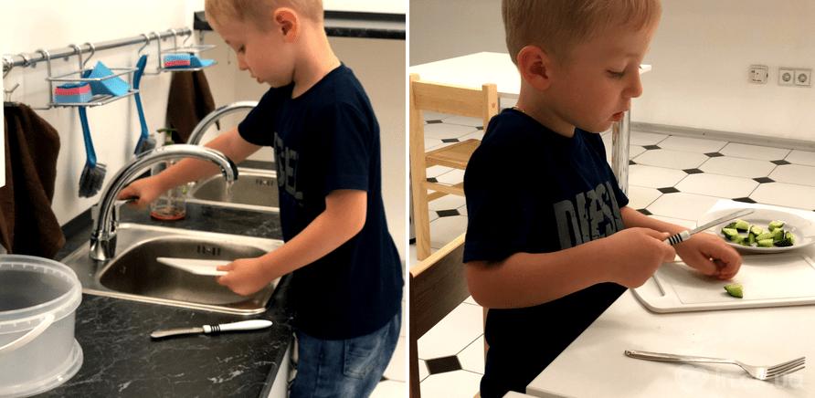 Фото 1 - В новом центре детей приучают к самообслуживанию