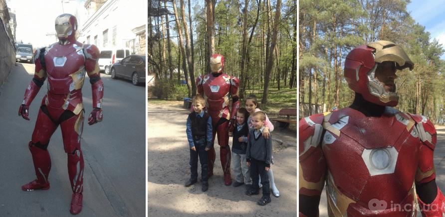 Фото 1 - Дизайнер Артем Максименко создает костюмы известных героев