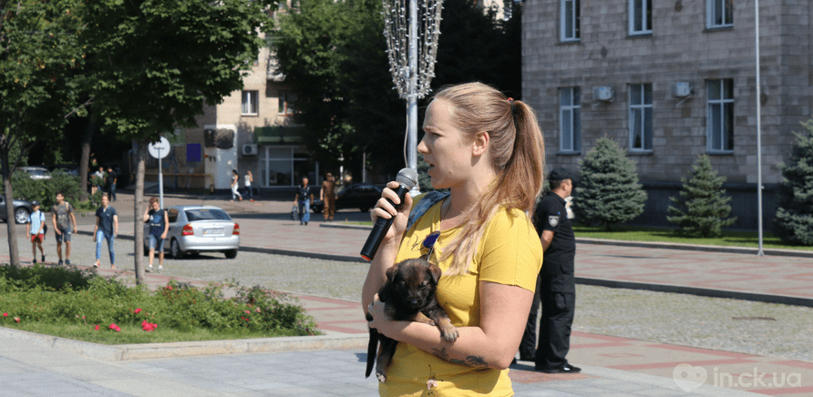 Фото 2 - Украина – не живодерня: горожане вышли на защиту бездомных животных