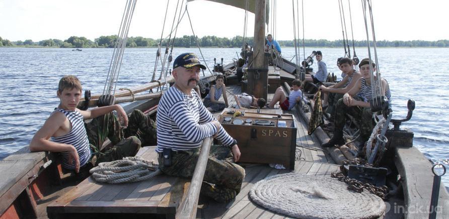 Фото 2 - Школа юних моряків із флотилією