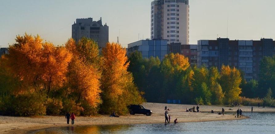 Осень в Черкассах через объективы фотокамер