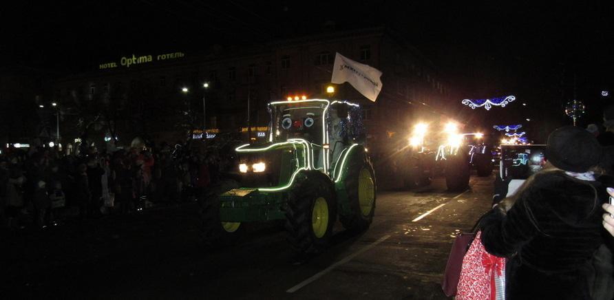 'В Черкассах прошел первый в Украине парад агротехники'