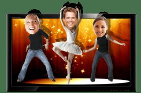 Танцующие головы, мобильная шоу-студия