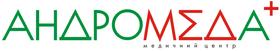 Логотип Андромеда+, медичний центр