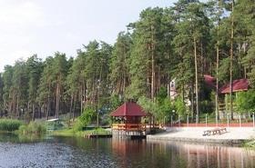 Днепровская Затока, база отдыха