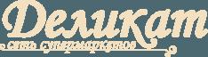 Логотип Деликат, сеть супермаркетов
