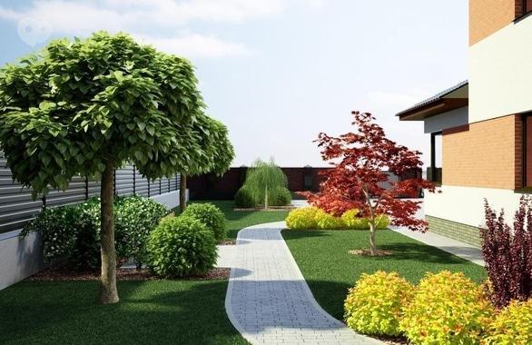 Фото 4 - Ландшафтный дизайн Terrassa