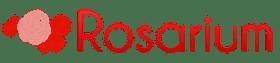 Логотип Rosarium, рассадник роз