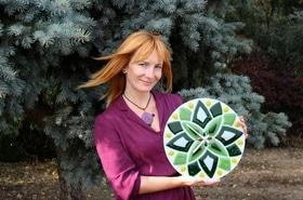 Арт-стекло Леси Коленчук, производство художественных изделий из стекла (ручная работа)