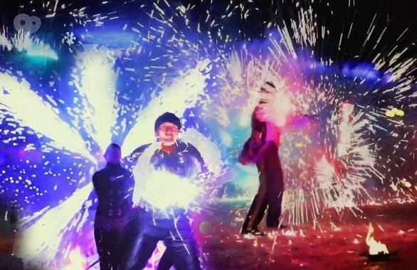 Фото 8 - Огненное шоу, пиротехническое шоу, великаны на ходулях Сварожичи