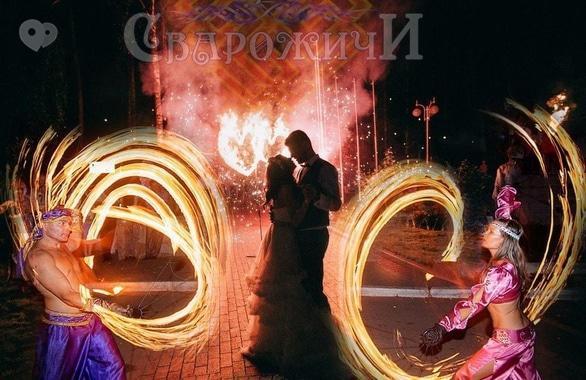 Фото 9 - Огненное шоу, пиротехническое шоу, великаны на ходулях Сварожичи