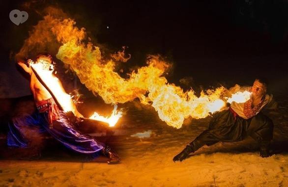 Фото 11 - Огненное шоу, пиротехническое шоу, великаны на ходулях Сварожичи