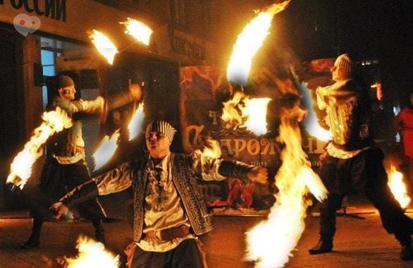 Фото 12 - Огненное шоу, пиротехническое шоу, великаны на ходулях Сварожичи