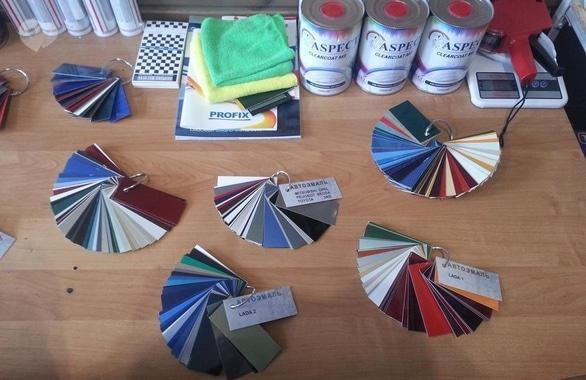 Фото 3 - Магазин материалов для покраски и ухода за автомобилем Авто-Фарбы