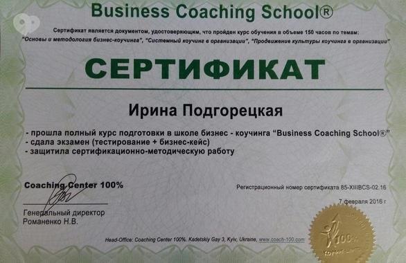 Фото 4 - Студия бизнес-коучинга ирины подгорецкой Training Space