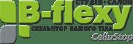 Логотип B-Flexy, студия коррекции фигуры