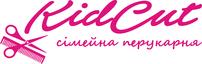 Логотип KidCut, семейная парикмахерская