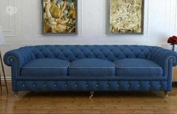 Фото 1 - Перетяжка мягкой мебели