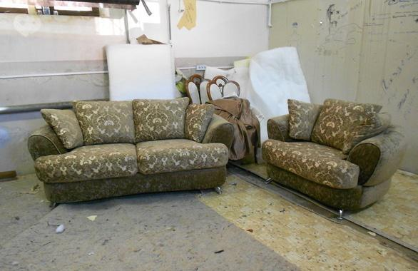 Фото 3 - Перетяжка мягкой мебели