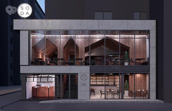 Фото 1 - Міське кафе SODA