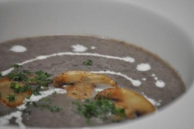 Грибной суп-крем Валюте
