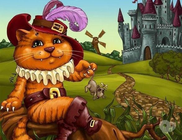 Для детей - Спектакль 'Кіт у чоботях'