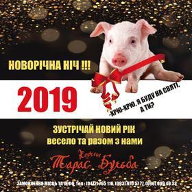 'Новый год  2019' - Празднование Нового Года в корчме 'Тарас Бульба'
