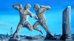 Тренировка по боевому самбо, панкратиону, микс файт