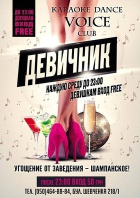 Девичник в KARAOKE – DANCE VOICE CLUB