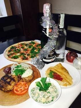 'Новий рік  2017' - Новорічні корпоративи в кафе-піцерії 'Прима Фелічіта'