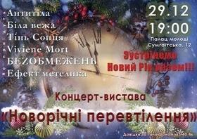 'Новый год  2017' - Концерт-спектакль 'Новогодние перевоплощения'