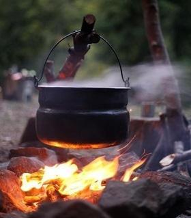 'Маевка' - Каша в весеннем лесу