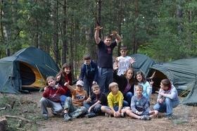 'Лето' - Детский лагерь 'Смена'. 'Туристический отряд'