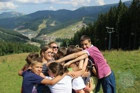 'Лето' - Международный детский лагерь в Карпатах 'Горный'