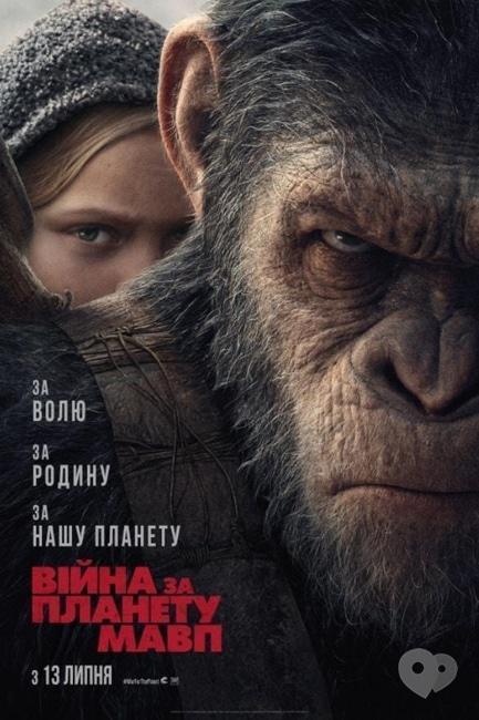 Фильм - Война за планету обезьян