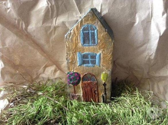 Обучение - Мастер-класс 'Декоративный домик'