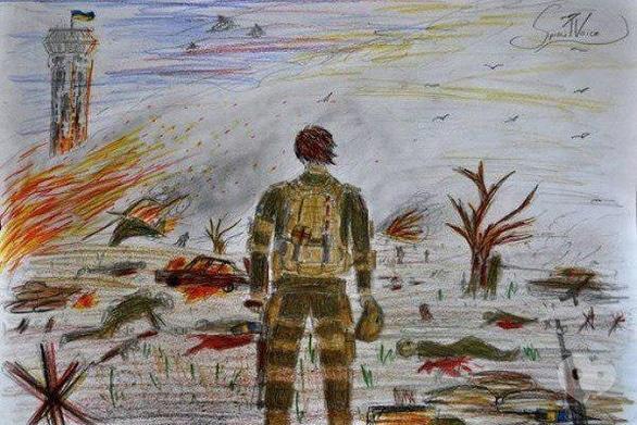 Выставка - Выставка-конкурс детских рисунков ко Дню защитника Украины