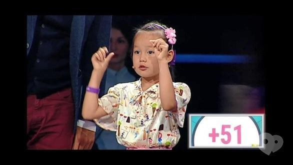 Ingenium school - 7-летняя ученица в телепередаче 'Круче всех'