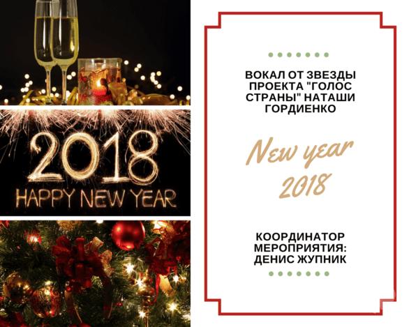 Вечеринка - Новогодняя ночь 2018 в ресторане 'Форест'