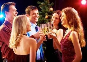 'Новый год  2018' - Новогодние корпоративы в ресторане 'Днепр'