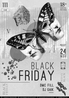 """Вечеринка """"Black Friday"""" в """"111 club"""""""