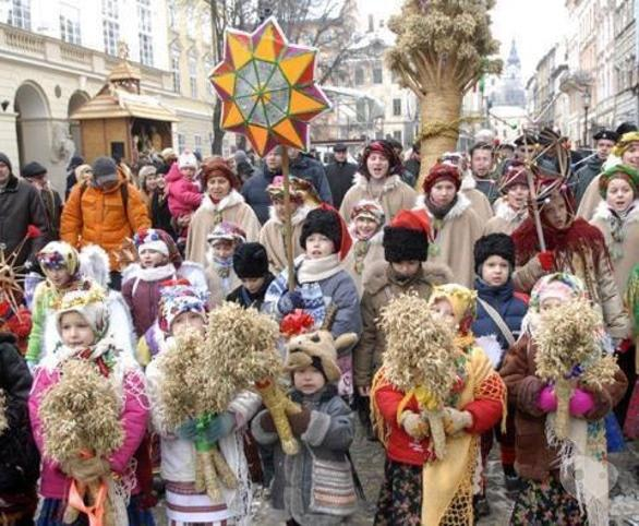 'Новый год  2018' - Рождественский фестиваль 'Черкасская коляда'
