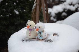 'Новый год  2018' - Мастер-класс для детей 'Снеговик'