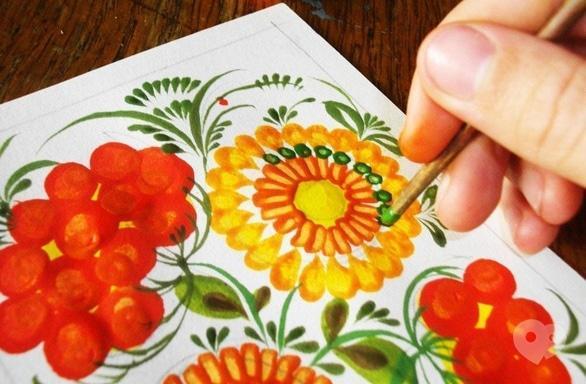 Обучение - Творческий мастер-класс по петриковской росписи