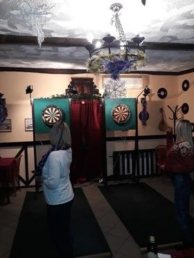 Благодійний турнір з дартсу