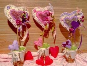 'День Св. Валентина' - Мастер-класс 'Дерево любви'