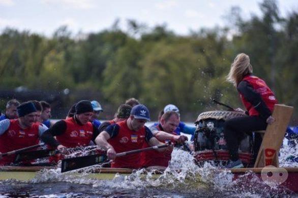 Спорт, отдых - Всеукраинские соревнования гребцов на лодках 'Дракон'